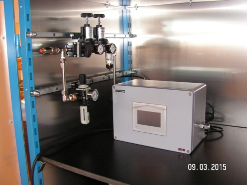 3M Testbench for profing filters wit controlled gas flow